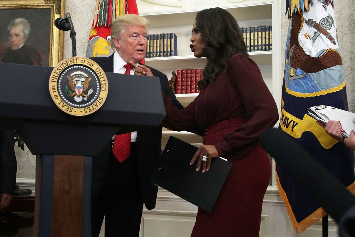 Omarosa Says She Was 'Uncomfortable' With Trump's Handling of Race Issues