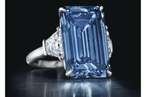 The diamond is named after Sir Philip Oppenheimer, whose family controlled De Beers.