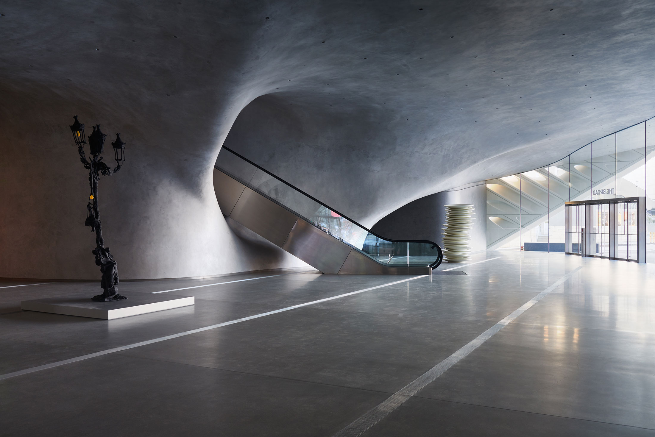 The Broad Lobby