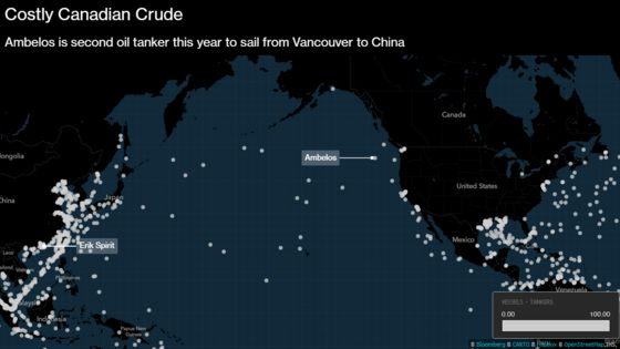China Grabs More Canadian Oil as Dirty Crude Supplies Dwindle