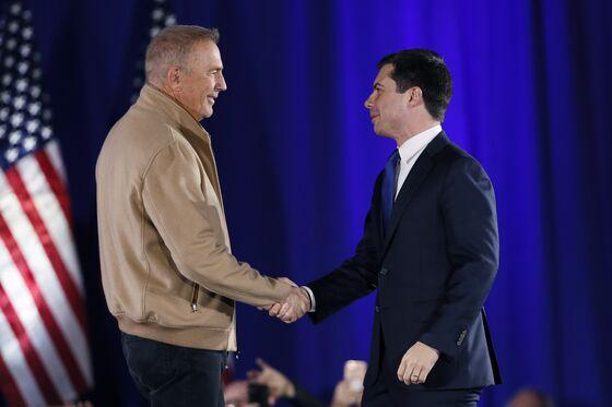Costner Helps Buttigieg Attract Big Iowa Crowds: Campaign Update