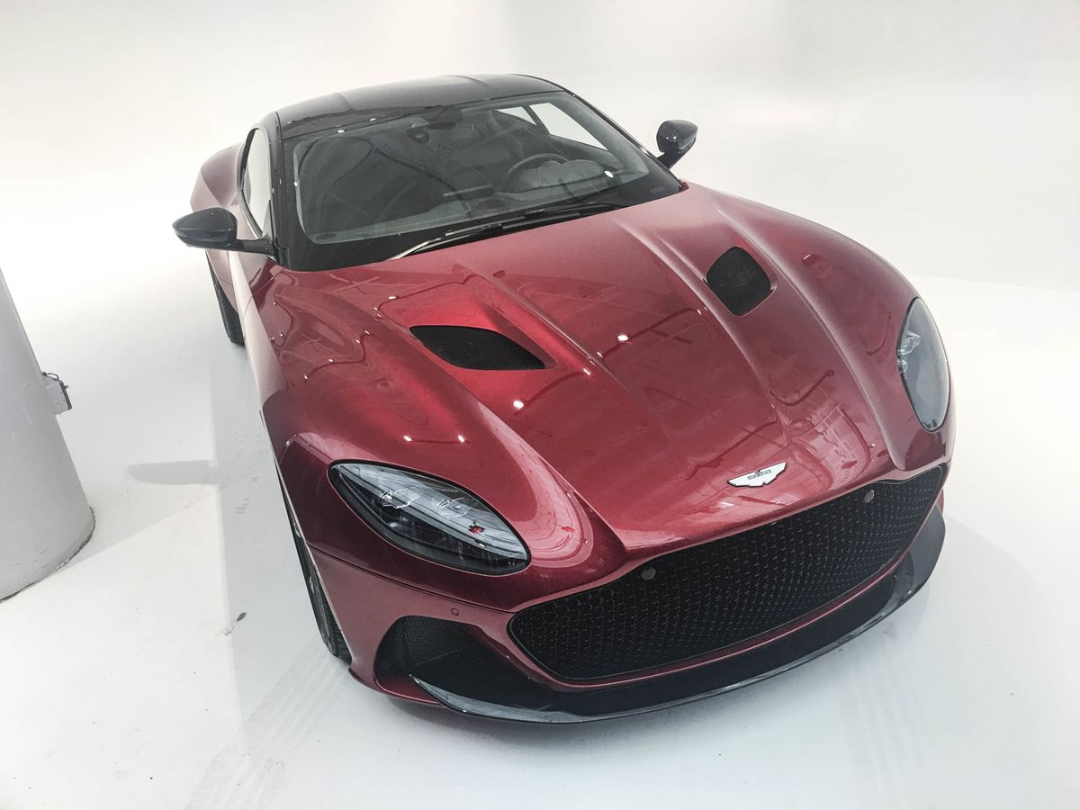 Aston Martin Debuts An AllNew DBS Superleggera Coupe - How many aston martin dbs were made