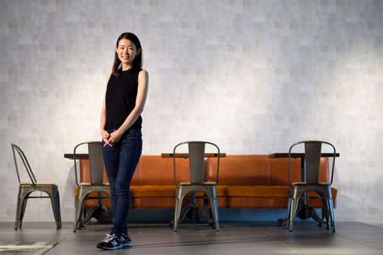At 34, She's Gone From Goldman to Failed Artist to Startup Queen