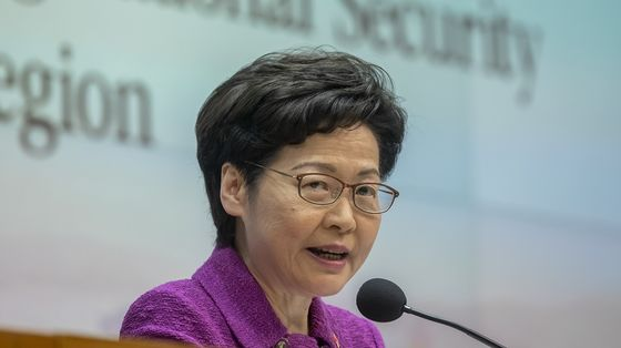 Hong Kong's Lam Defends Security Law After Asserting New Powers