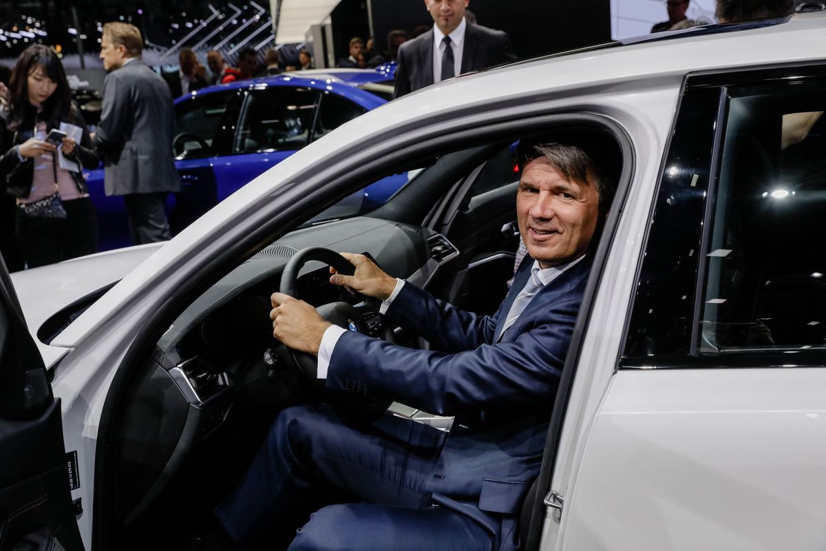 BMW CEO Harald Krueger in Doubt Amid Tensions on Epic Shift