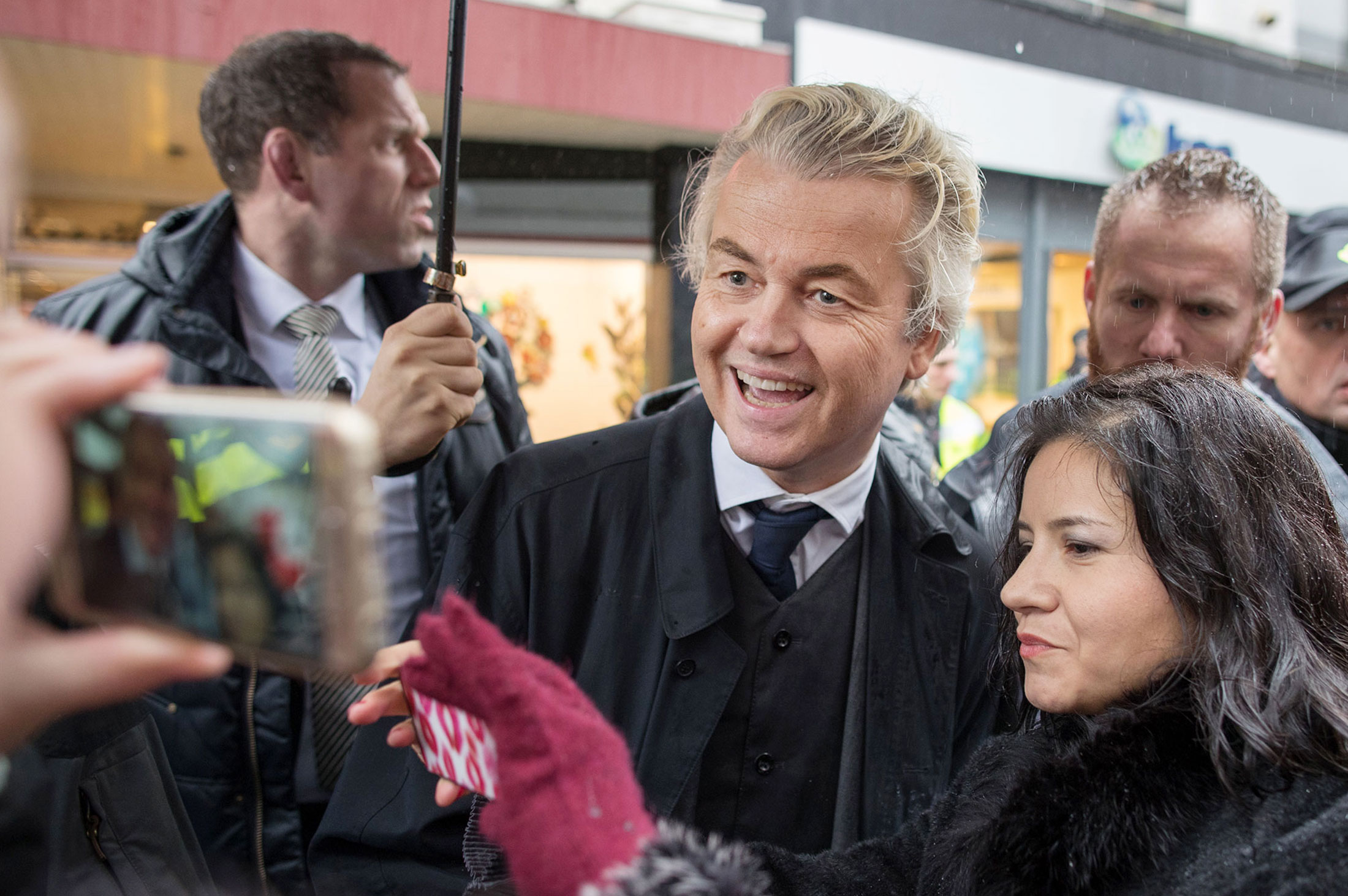 Dutch to Get `Nice Surprise' in Election, Candidate Wilders Says