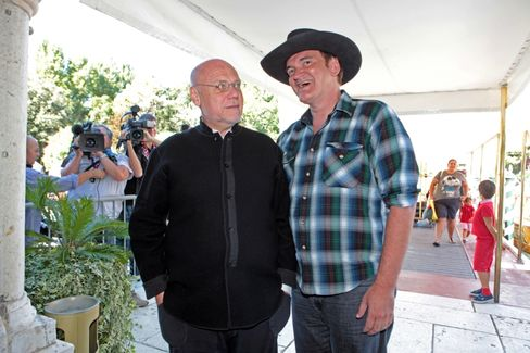 Marco Muller and Quentin Tarantino