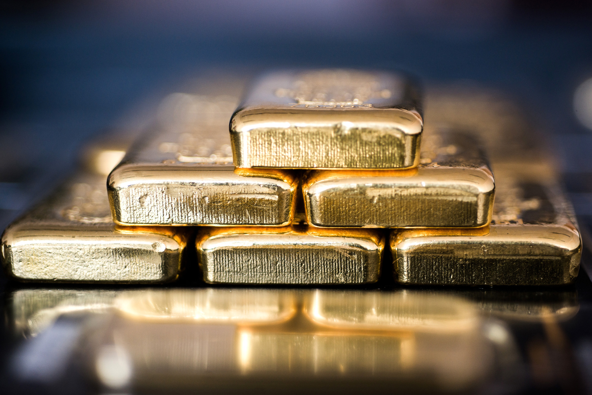 Gold Bars Inside Solar Capital Gold Zrt. As Gold Climbs To One-Year High On ECB Rate View