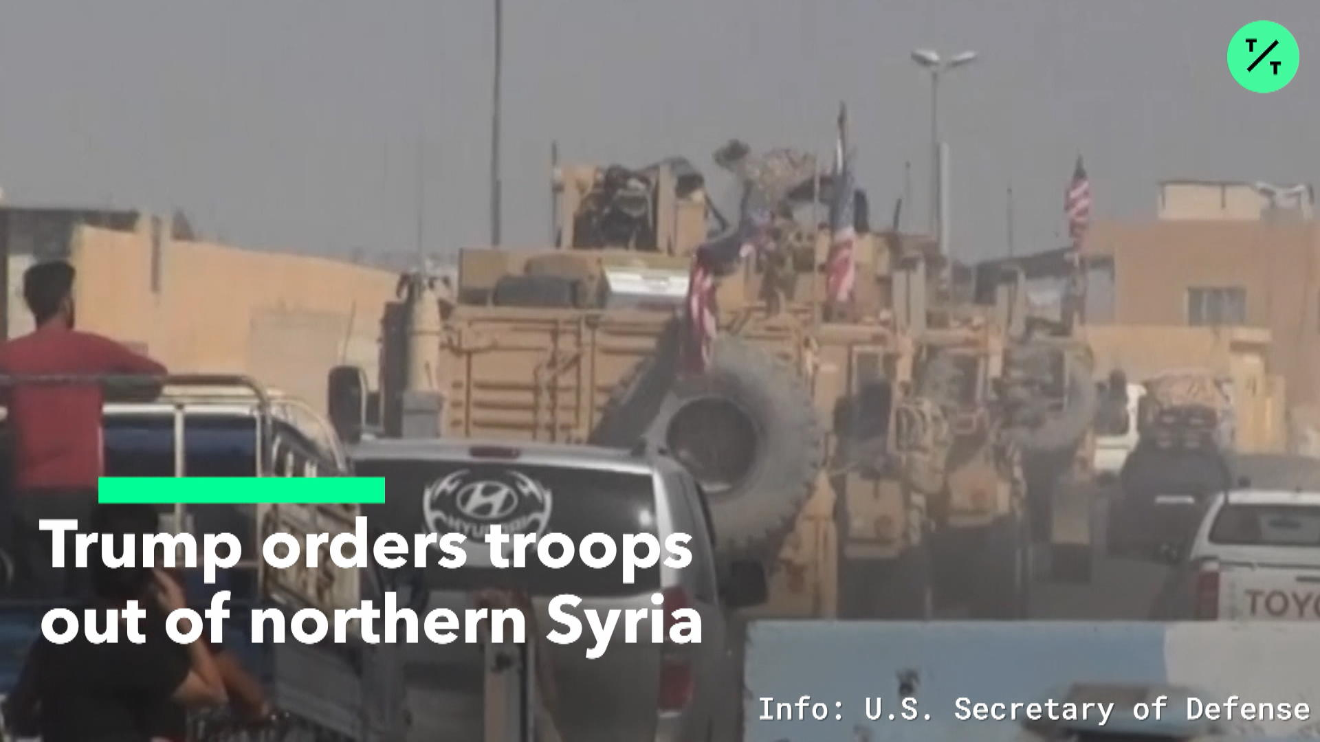 Trumps Orders Troops Out of Syria
