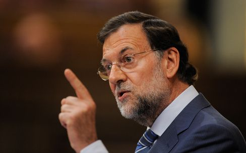 Spanish Prime Minister-elect Mariano Rajoy