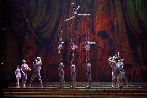 Batista's Cirque du Soleil Tests Gaga Promoter: Corporate Brazil