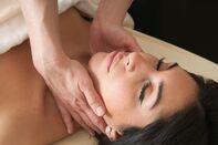 Women Getting Lymphatic Massage