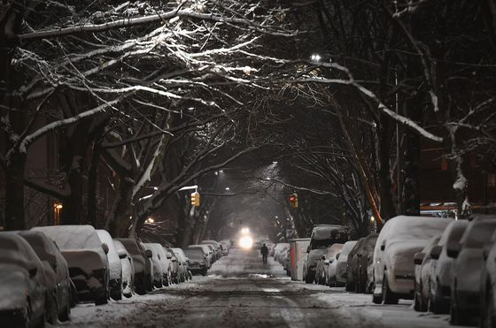 NYC Is Slammed With Season's Heaviest Snow as Storm Winds Down