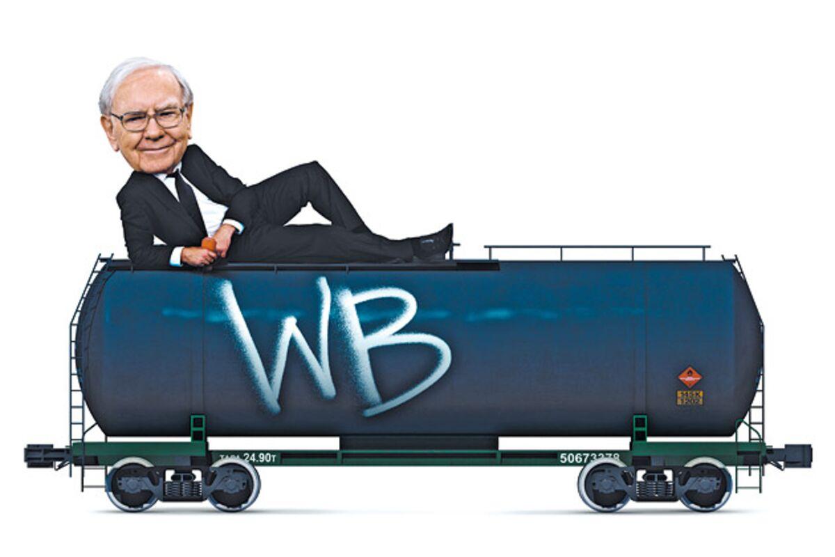 Warren Buffett Cashes In on Railroad Tank Cars