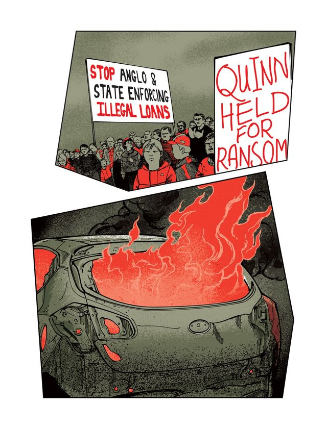 illustration of protests