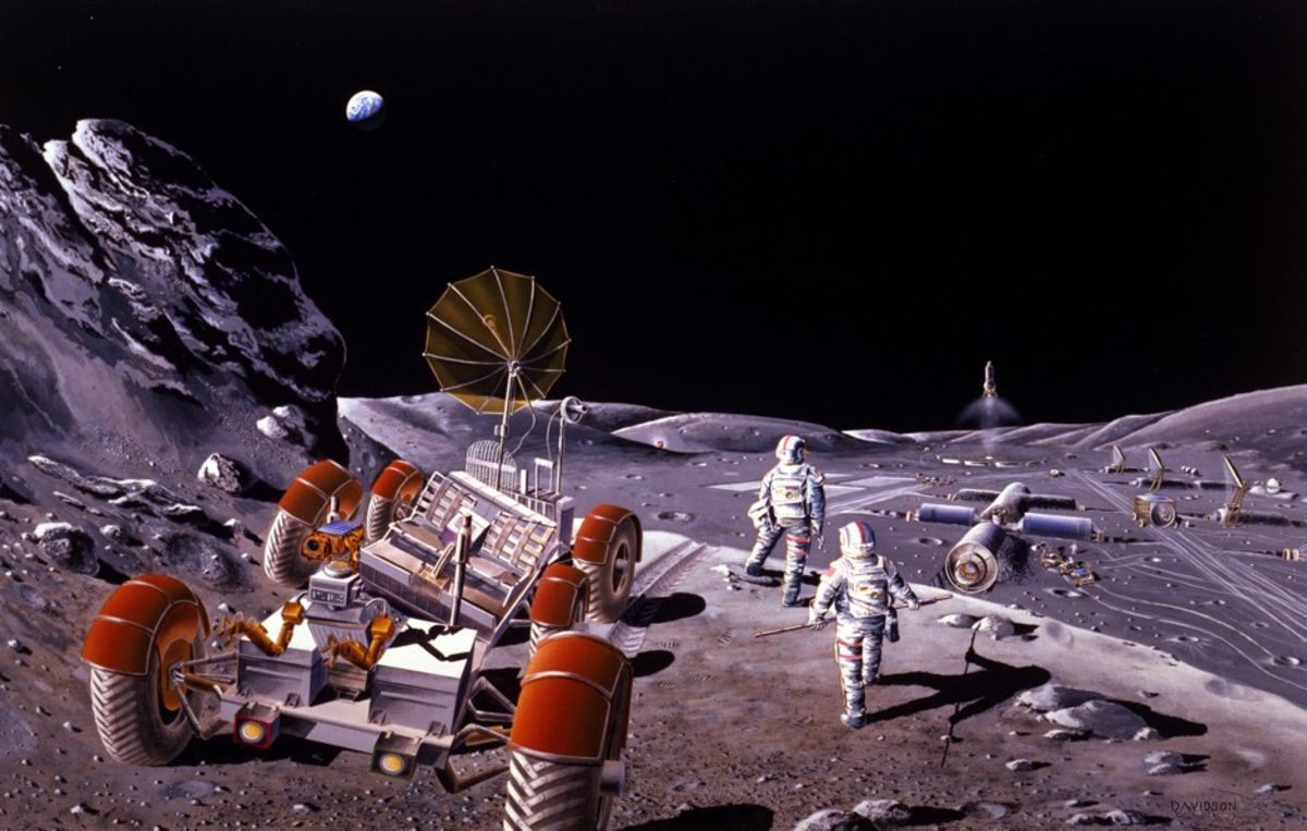 All the Reasons Why We Don't Have Cities on the Moon (Yet)