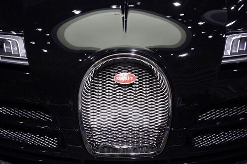 VW's Bugatti Veyron Automobile