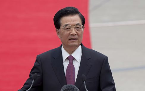 Hu Says China's Growth Is Facing 'Notable Downward Pressure'