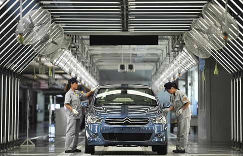 Employees Work on the Production Line in Wuhan