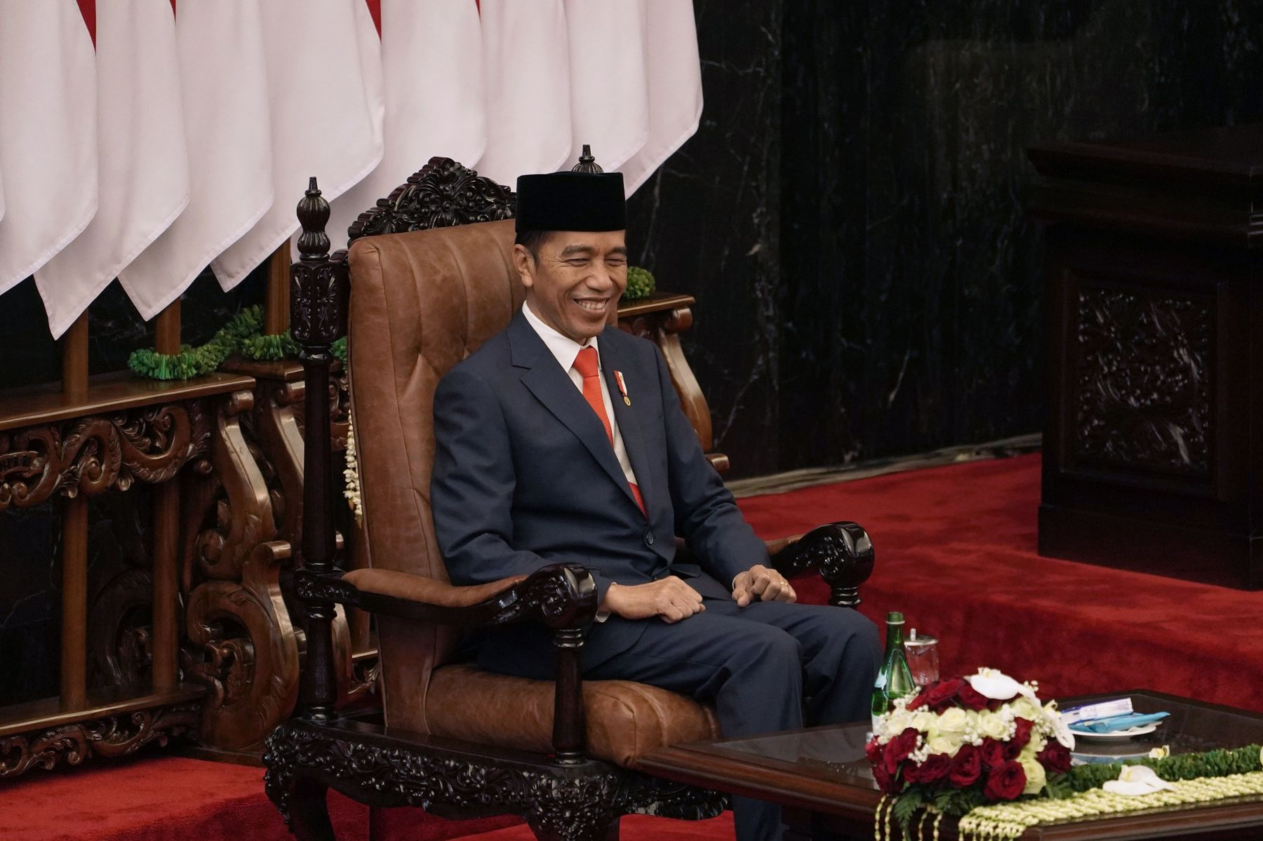 Joko Widodo on Oct. 20.