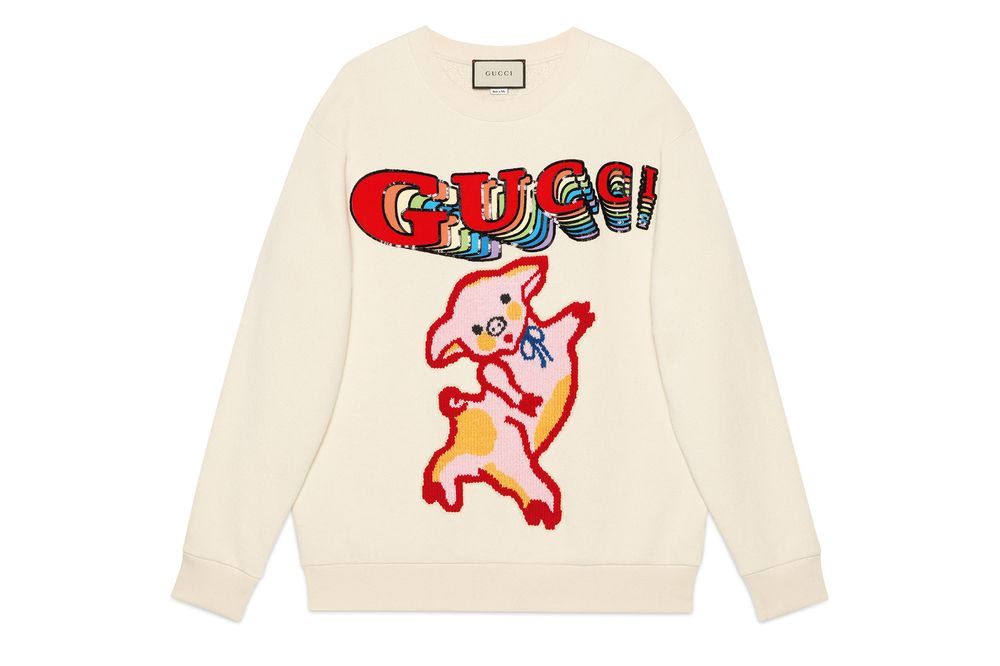 cba16377b relates to From Gucci to Louis Vuitton, Luxury Brands Give the Pig a  Chinese New
