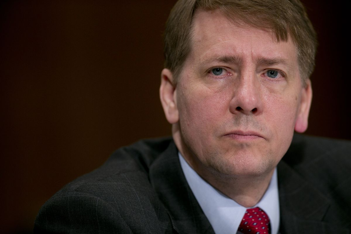Cordray Names Lieutenant to Take Over CFPB in Challenge to Trump