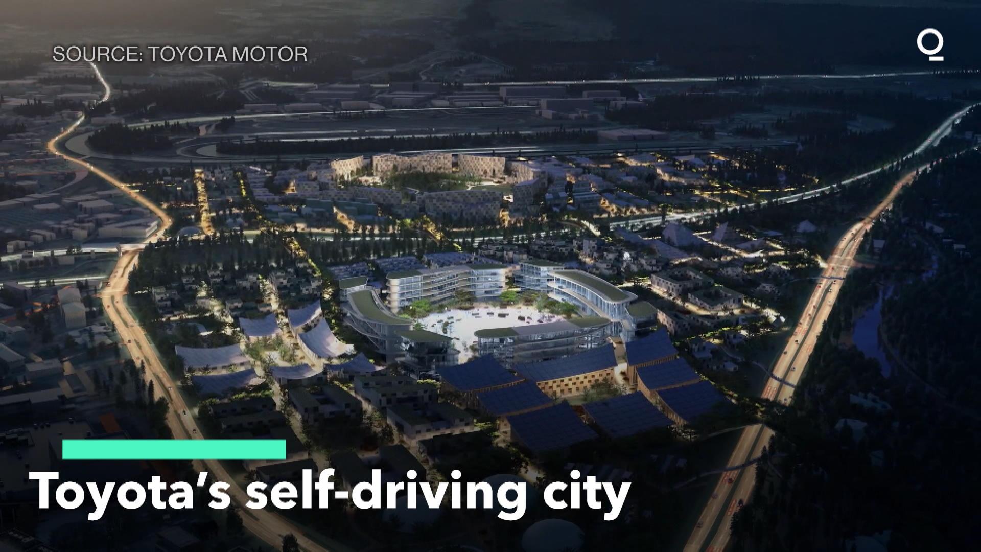 Toyota's Self-Driving City