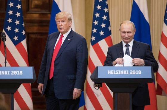 Trump's Helsinki Hopes Fade After Putin Rejects Microsoft Charges