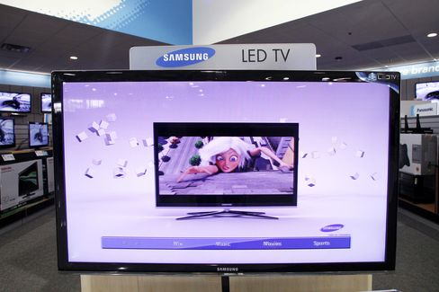 Samsung Sues Over Flat-Panel Patents