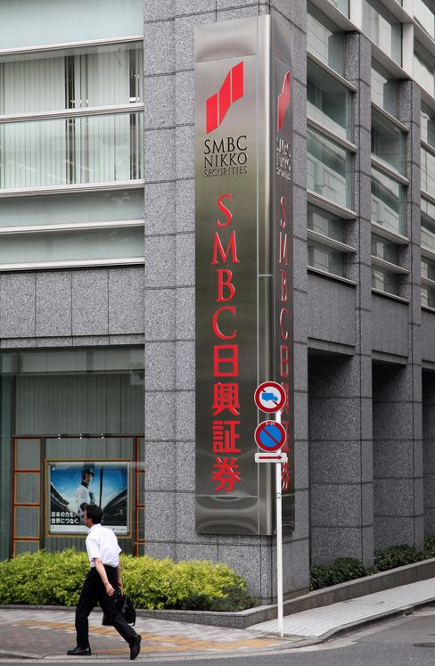 SMBC Nikko to Add 100 Staff Abroad to Compete With Global Banks