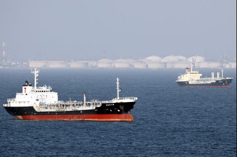 Tankers Falling 42% as Japan Weakens Most Since Tsunami