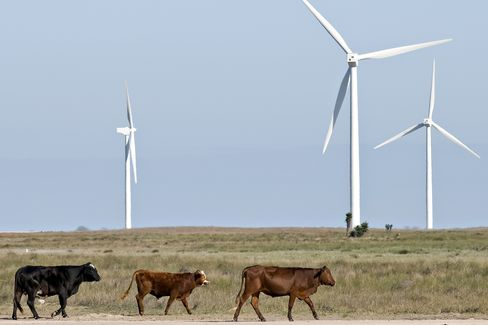 Gulf Coast Beckons Wind Farms When West Texas Gusts Fade