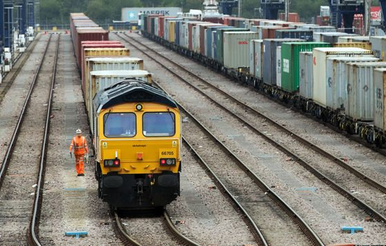 Brexit Logjams ForceFreight Trains to Leave Goods at Port