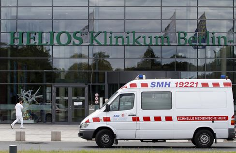 Rhoen Klinikum Shares Slump After Fresenius Offer Fails