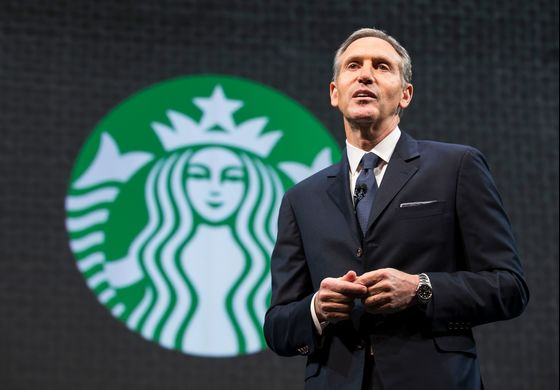 Schultz's 2020 Foray Risks Blowback to Starbucks in Blue America