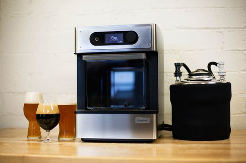 The machine itself is still on the large side for a countertop appliance, and you still need space for the keg.
