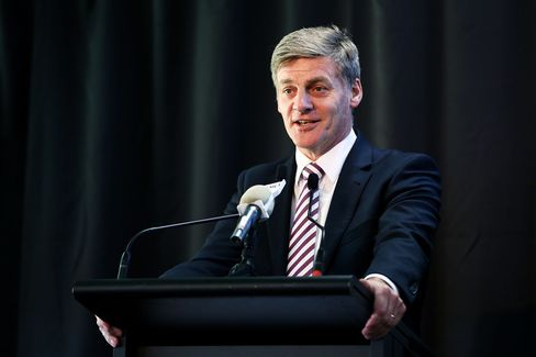New Zealand's Minister of Finance, Bill English.