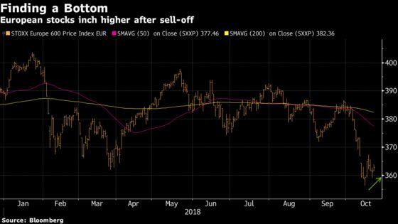 Europe Stocks Rise as Banks, Italian Shares Bounce Back
