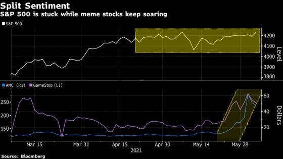 Meme Stock Marauders Aside, the Average S&P 500 Bull Is Worried