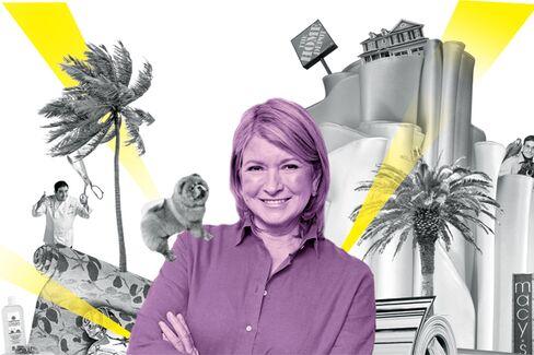 Macy's Says Martha Stewart's Dance Card Is Too Full