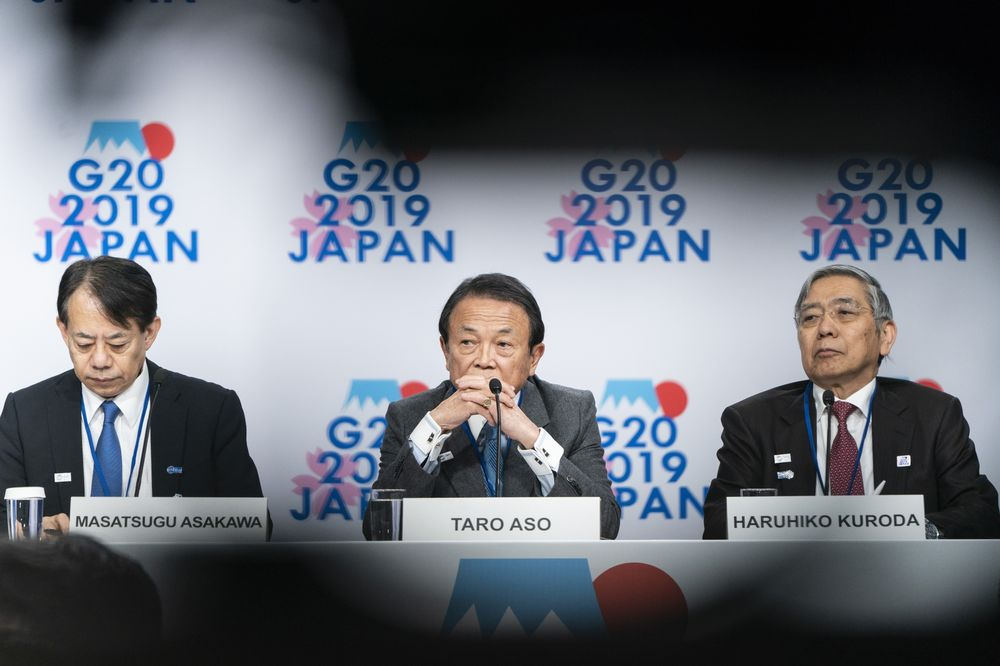 Japan Warns G-20 That Global Economy Still Faces Downside