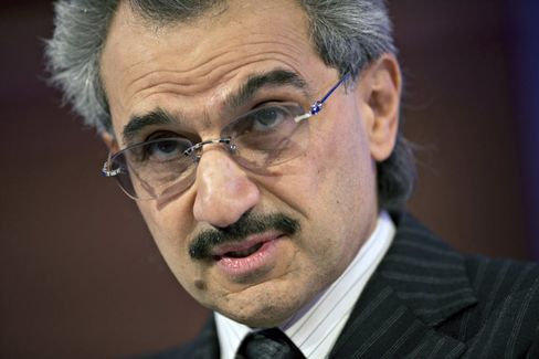 Prince Alwaleed: We'll Never See Oil at $100-Plus Again