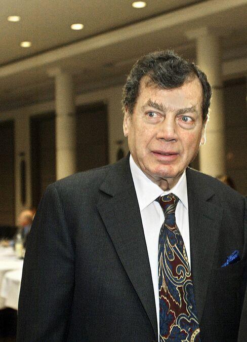 Billionaire Edgar M. Bronfman