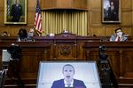 Mark Zuckerberg, chief executive officer and founder of Facebook Inc., speaks via videoconference during a House Judiciary Subcommittee hearing in Washington, D.C., U.S., on Wednesday, July 29, 2020.