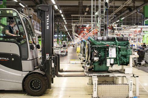 Volvo AB Manufacturing Plant In Gothenburg.