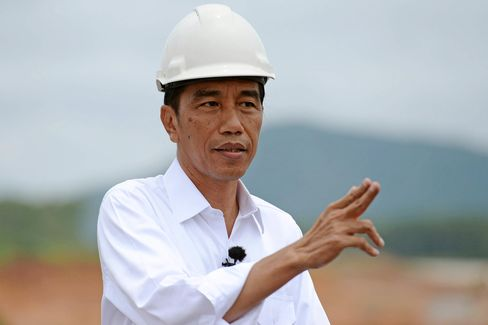 Interview With Indonesia President Joko Widodo As He Visits Progress At Construction Of The Sumatra Toll