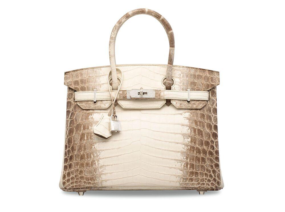 The White Crocodile Skin Birkin Bag