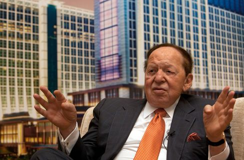 Las Vegas Sands Corp.Chairman and CEO Sheldon Adelson