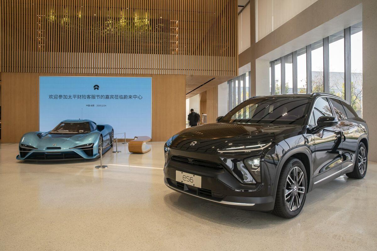 China EV Maker Nio to Unveil New Sedan as Valuation Eclipses GM