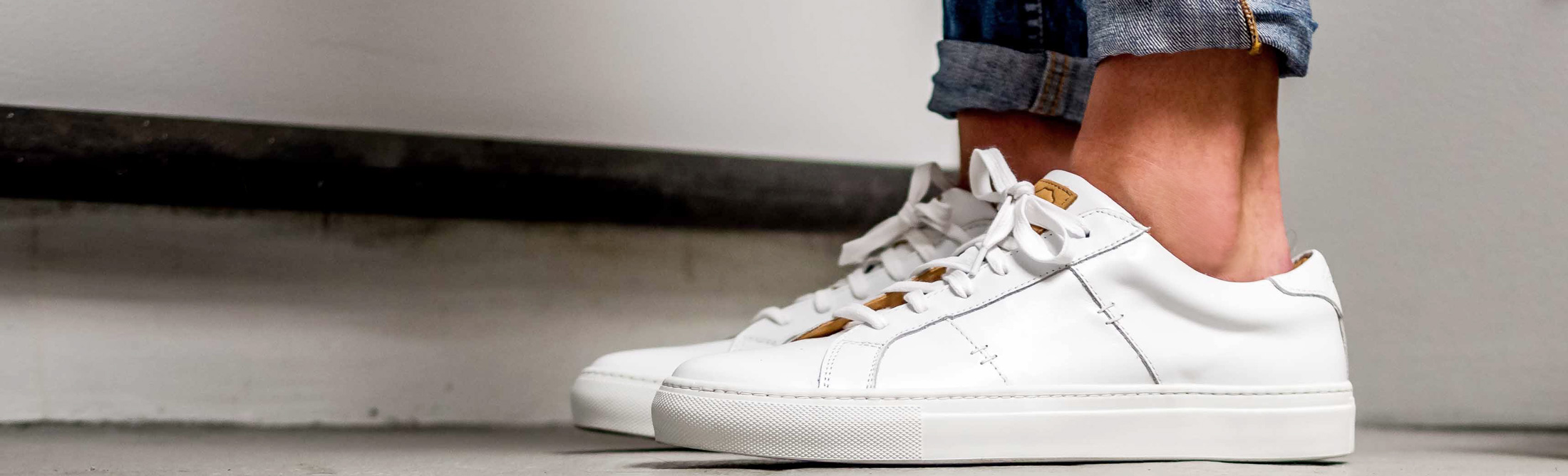 d7505c8d6e Eight Leather Sneakers to Buy Now and Wear Through Fall - Bloomberg